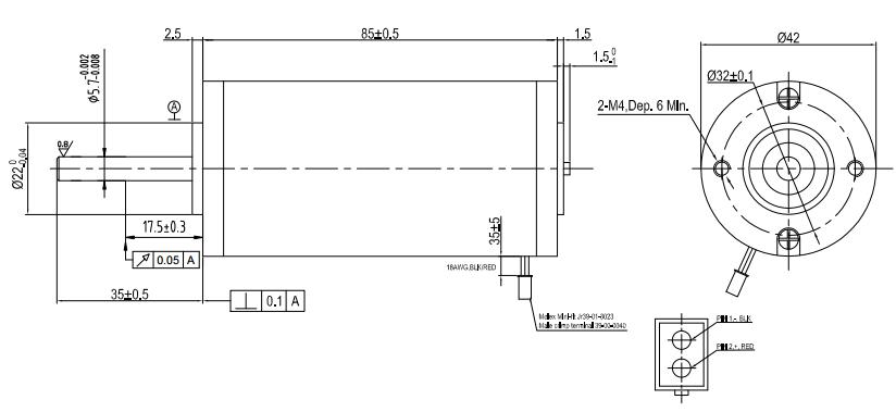 HS-DC4258外形図